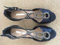 Miss KG Navy Blue Occasion Sandals