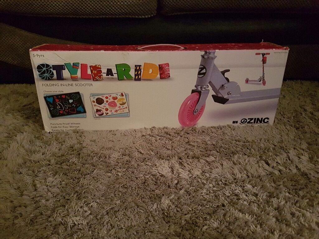Girls Zinc scooter