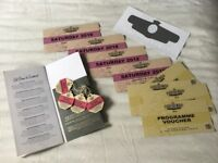 4 Goodwood revival tickets. Saturday. With roving grandstand