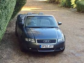 Audi A4 Cabriolet / 2003 / 3L / 95,000 - reduced for quick sale!