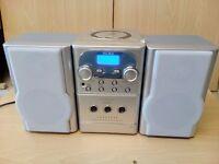 Alba Micro Hi-fi Stereo - Radio, CD and Cassette Player