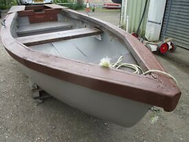 12ft7 grp fishing boat