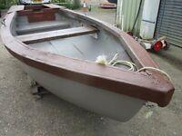 12ft7 grp fishing boat