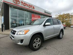 2012 Toyota RAV4 Accident Free - 1 Owner - Certified