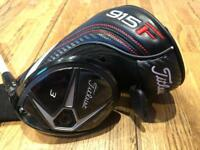 Titleist 915f fairway wood