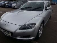 MAZDA RX8 1.3 230BHP 2004 REG LOW MILES 70K LEATHER