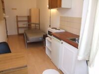 Zone One single bedsit (SW5). ALL bills included