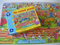 3 Sets of puzzles (Fireman Sam, Thomas, Bob the builder, etc), Mickey Mouse play figures, etc