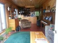 private cottage in country on water/weekly rental
