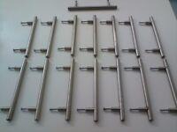 Kitchen Cupboard Handles - Chrome x 15