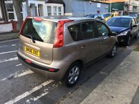 2006 Nissan note 1.6 petrol automatic 5 doors low miles
