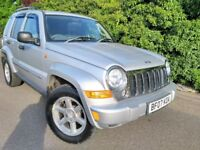 2007 JEEP CHEROKEE *SAT NAV* LEATHER* 2.8 CRD AUTOMATIC LIMITED GRAND 2.5 2.7