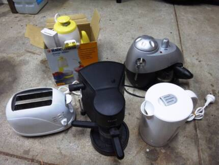 Kitchen Appliance COLLECTION - Coffee Maker(s) / Toaster / Kettle Forrestfield Kalamunda Area Preview