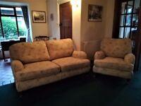 For sale. Multiyork Verona sofa and Verona chair.