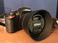 Nikon D3200 with 18-55mm lens & 50mm lens
