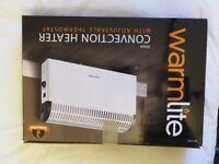 Warmlite WL41001 Convection Heater, 2000 Watt in good condition with original box. White.
