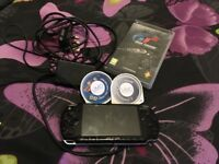 Psp and 3 games