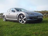MAZDA RX8 192PS WELL UNDER 78000 MILES