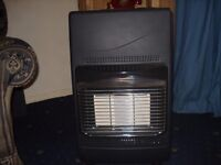 Calor gas heater and 1 bottle of gas