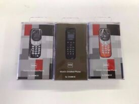 Zanco Phone- Samllest phone in the world, collect today from West Brom B70 8EX New £30 great offer!