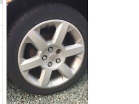 Vauxhall Alloy wheels and brand new tyres set of 4