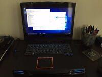 Alienware M15x Gaming Laptop - Windows 10 Pro - Intel i7 CPU - 6 GB RAM - 500 GB HD