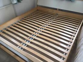 Ikea super kingsize bed frame