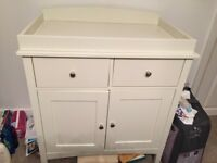 Baby chest of drawers/changing table