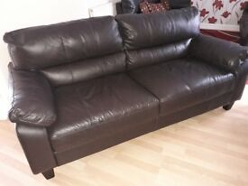 3 leather sofas for sale