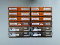 32Gb FB-DIMM DDR2-667 across 12 sticks