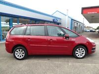 Citroen C4 Grand Picasso 7 seater family car with **Reverse parking sensor**