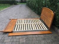 King size cherrywood bed good condition