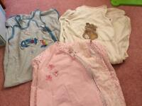Baby sleeping bags x 3