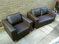 2 Seater Sofa & Chair