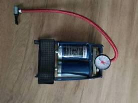 Bike foot pump