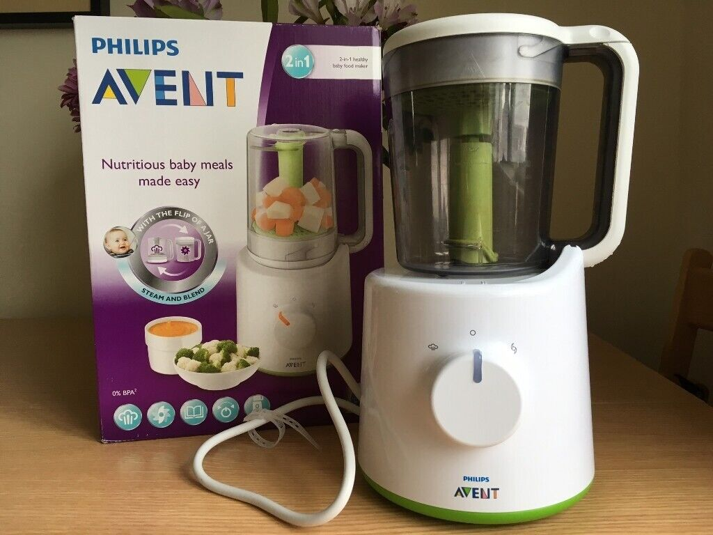 Philips Avent Baby Food Steamer And Blender In Kingston London Gumtree