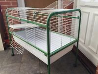 Liberta Warren indoor rabbit cage on stand