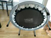 Mini-Trampoline. Bounce fitness