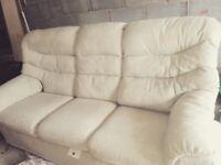 Very comfortable large three seater G-plan sofa!