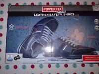 Leather Safety Shoes POWERFIX EU 46/ UK 11,5