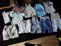 3-6 months boys clothes all as new condition
