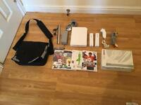Wii Console With 2 controllers, 3 Games, Gaming Bag & Accessories £30 no offers