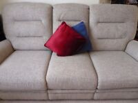 Eastborne Sofa, 3seater, electric, premium quality, excellent condition for sale