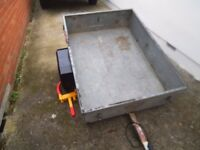 4x3 Galvanised Trailer - Car trailer