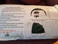 Hidey hood folding cover