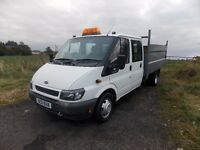WANTED FORD TRANSIT PICK UP