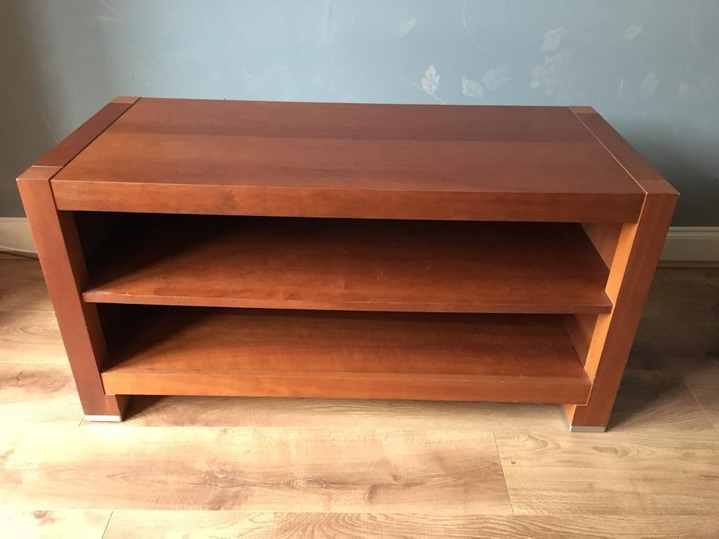 Three Piece Tv Stand Coffee Table Book Case Dvd