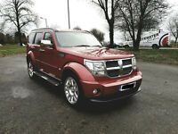 Dodge Nitro 2.8 CRD SXT 5dr REAR TVs,SAT NAV,BLUETOOTH