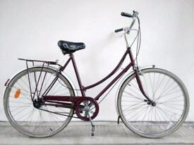 """(2705) 26"""" 21"""" RALEIGH 3 SPEED VINTAGE COMMUTER CITY TOWN BIKE BICYCLE Height: 175-190cm"""