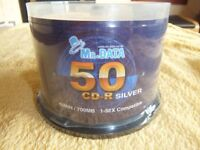 Mr DATA 50 CD-R recordable discs, Sealed pack
